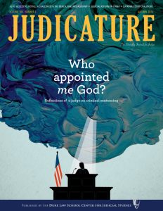 Autumn 2016 Judicature Cover