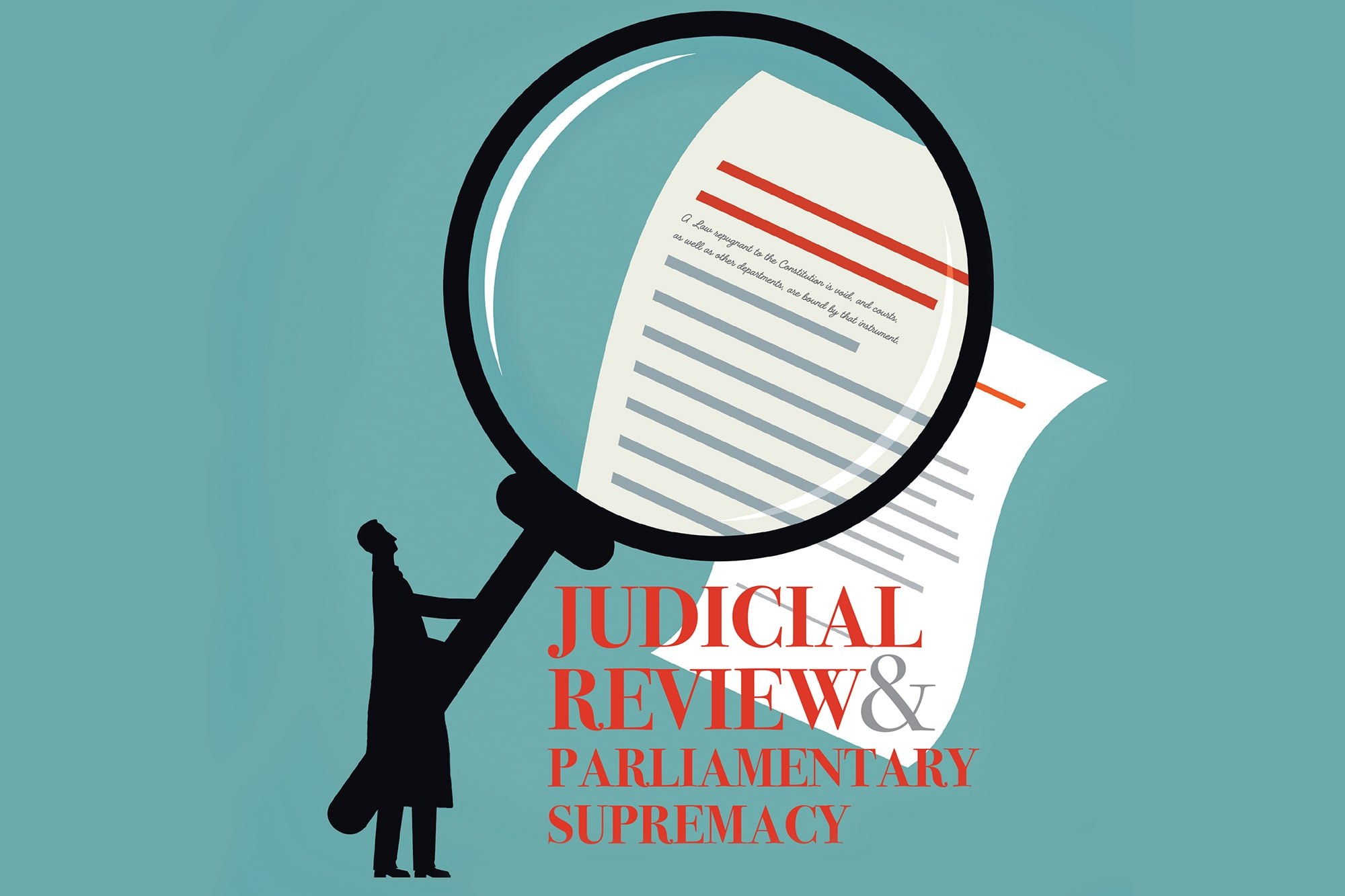 Judicial Review and Parliamentary Supremacy