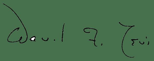 David F. Levi signature