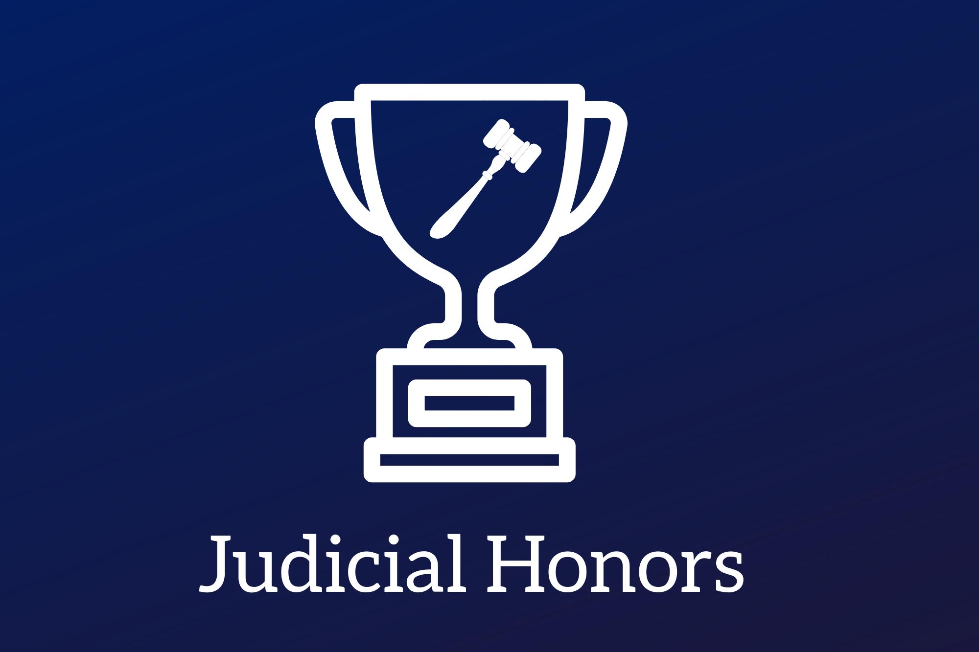 Judicial Honors